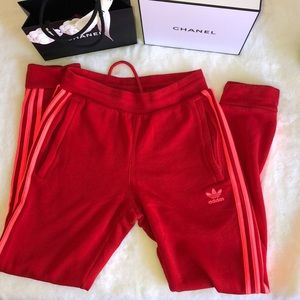 Red adidas size Small like new
